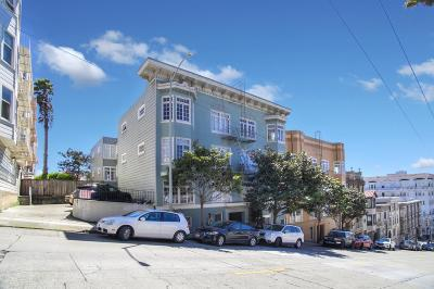 San Francisco County Single Family Home For Sale: 1335 Union St 5
