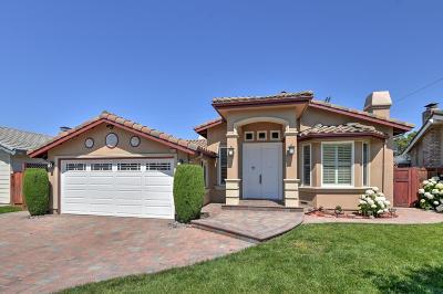 SANTA CLARA Single Family Home For Sale: 1711 Santa Cruz Ave