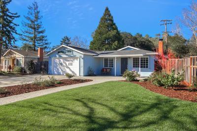 LOS GATOS Single Family Home For Sale: 132 Las Astas Dr