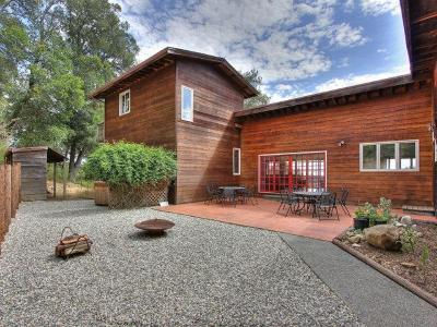 Santa Cruz County Single Family Home For Sale: 640-644 Hester Creek Rd