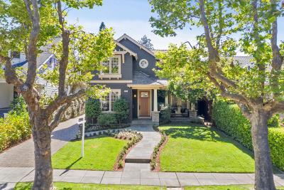 BURLINGAME Single Family Home For Sale: 317 Occidental Ave