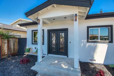 SANTA CLARA Single Family Home For Sale: 1081 Kiely Blvd