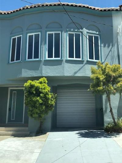 San Francisco Single Family Home For Sale: 546 33rd Ave