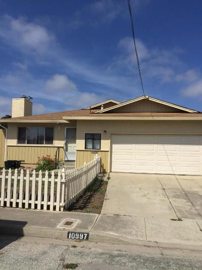 CASTROVILLE Single Family Home For Sale: 10997 Seymour St