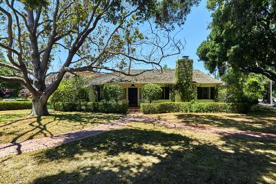 SAN JOSE Single Family Home For Sale: 1601 University Way