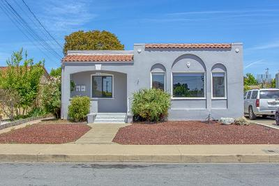 Watsonville Single Family Home Contingent: 615 E 5th St