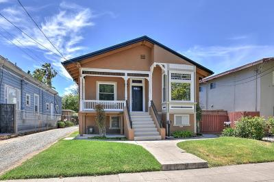 SAN JOSE Single Family Home For Sale: 461 N 6th St