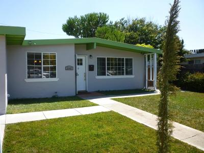 SANTA CLARA Single Family Home For Sale: 2107 Monroe St