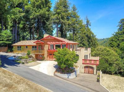 SOQUEL Single Family Home For Sale: 500 Lagunita Dr