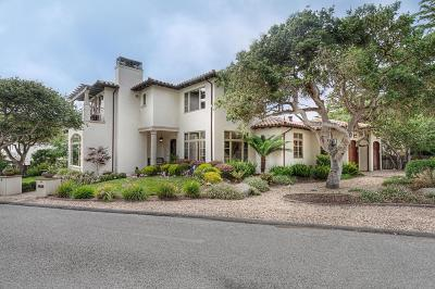 Pebble Beach Single Family Home For Sale: 1021 Adobe Ln