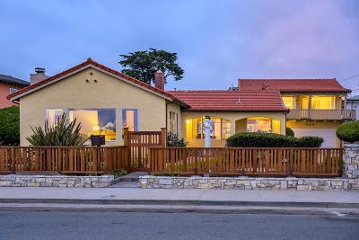 Santa Cruz County Single Family Home For Sale: 950 W Cliff Dr