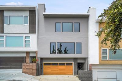 San Francisco County Single Family Home For Sale: 465 Myra Way