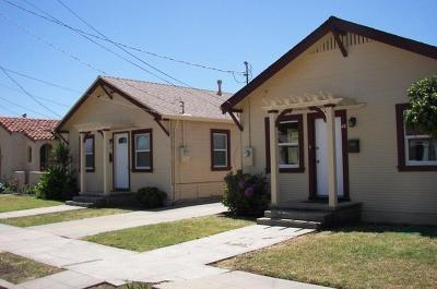 SALINAS Multi Family Home For Sale: 42 West St