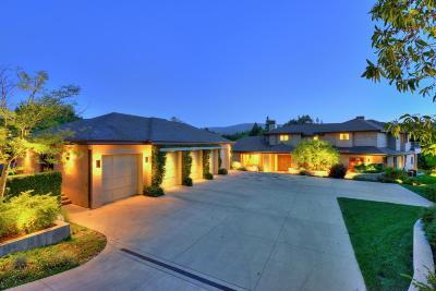 Monterey County, San Benito County, Santa Clara County, Santa Cruz County Single Family Home For Sale: 26140 Rancho Manuella Ln