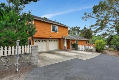 PACIFIC GROVE Single Family Home For Sale: 1239 Presidio Blvd