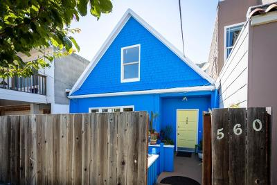 San Francisco County Single Family Home For Sale: 560 Vienna St