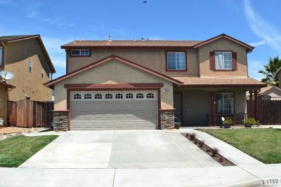 HOLLISTER Single Family Home For Sale: 1750 Brighton Dr