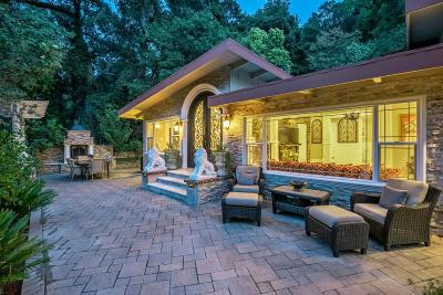 LOS GATOS Single Family Home For Sale: 15800 Shannon Rd