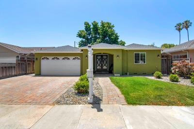 SANTA CLARA Single Family Home For Sale: 2440 Raggio Ave