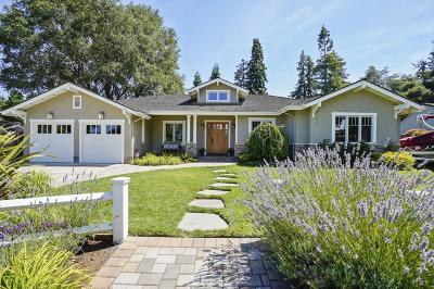 Los Altos Single Family Home For Sale: 658 Spargur Dr
