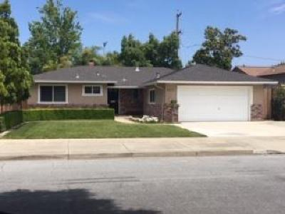 SAN JOSE Single Family Home For Sale: 4513 Venice Way