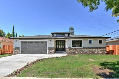 Single Family Home For Sale: 1609 Clovis Ave