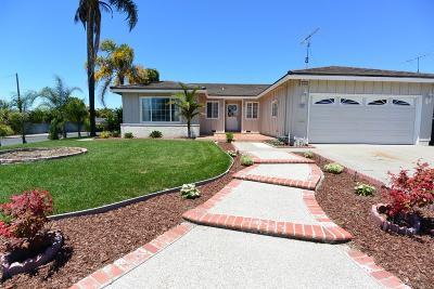 Santa Clara County Single Family Home For Sale: 2591 Monroe St