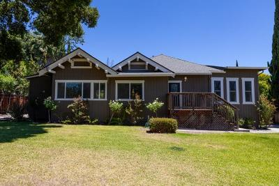Single Family Home For Sale: 5386 Alum Rock Ave