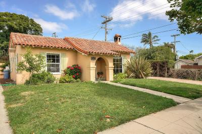 SALINAS CA Single Family Home For Sale: $540,000