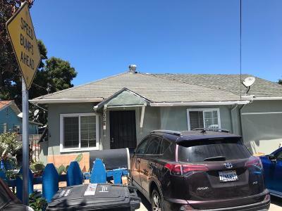 EAST PALO ALTO CA Single Family Home For Sale: $899,000