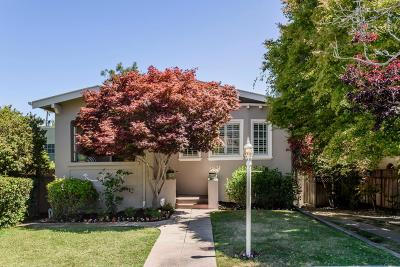 BURLINGAME Single Family Home For Sale: 1212 Bernal Ave