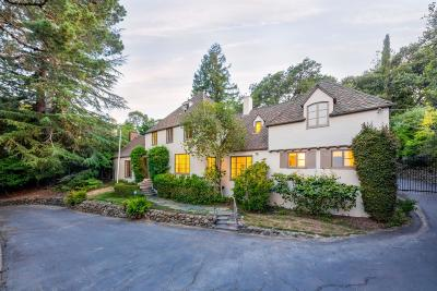 San Mateo County Single Family Home For Sale: 600 Hayne Rd