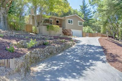 Santa Cruz County Single Family Home For Sale: 1845 Quail Hollow Rd