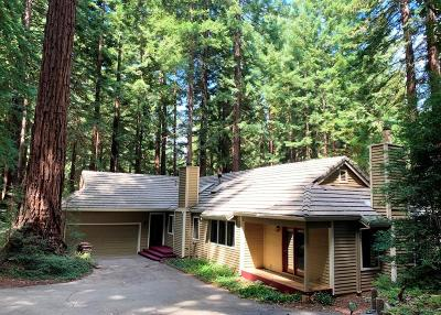 LOS GATOS Single Family Home For Sale: 22142 Call Of The Wild Rd
