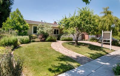 SUNNYVALE CA Single Family Home Sold: $1,850,000