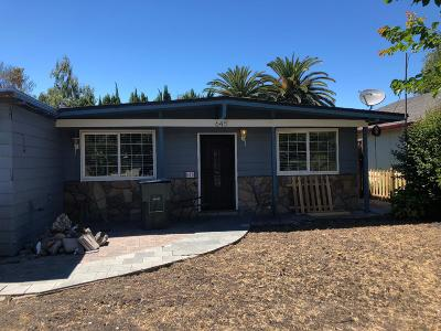 SUNNYVALE Single Family Home For Sale: 645 Johanna Ave