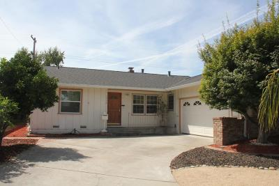 SAN JOSE Single Family Home For Sale: 1732 Silverwood Dr