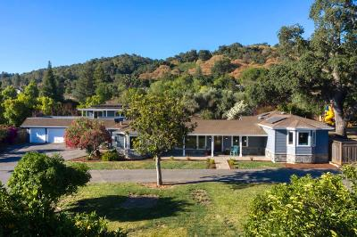 LOS GATOS Single Family Home For Sale: 14850 Blossom Hill Rd