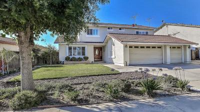 Santa Clara County Single Family Home For Sale: 1825 Cape Horn Dr