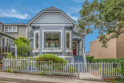 Pacific Grove Single Family Home For Sale: 306 3rd St