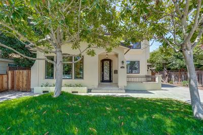 PALO ALTO Single Family Home For Sale: 3650 Ross Rd