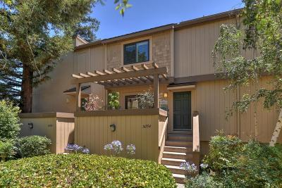 LOS GATOS Townhouse For Sale: 14554 S Bascom Ave