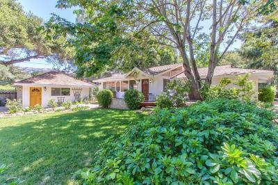 Carmel Valley Single Family Home For Sale: 10 10 Upper Circle