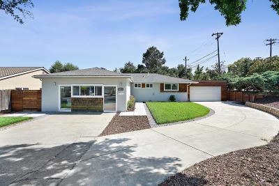 LOS GATOS Single Family Home For Sale: 100 Calle Marguerita