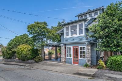 Pacific Grove Multi Family Home For Sale: 305 Wood St