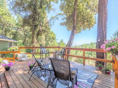 Watsonville Single Family Home For Sale: 2038 Eureka Canyon Rd