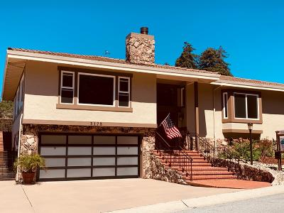 SOQUEL Single Family Home For Sale: 3175 Crystal Heights Dr