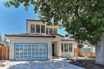 CUPERTINO Single Family Home For Sale: 18770 Tilson Ave