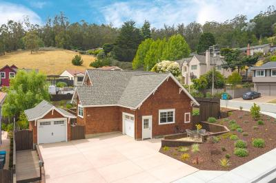 Pacifica Single Family Home For Sale: 1282 Sheila Ln