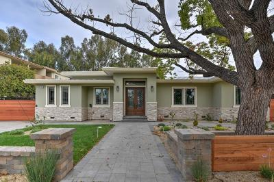 Palo Alto Single Family Home For Sale: 3905 Park Blvd